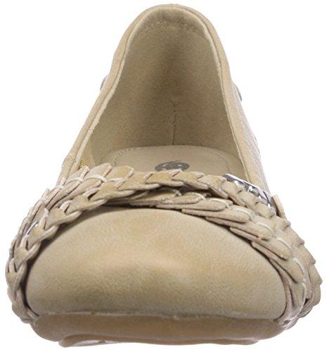 Dockers by Gerli 34JE206-620530 Damen Geschlossene Ballerinas Beige (beige 530)