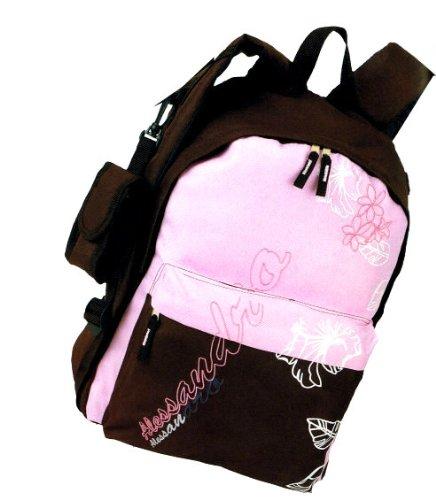 Rucksack 1304 Alessandro Young Fashion m. Handyfach,Kabelkanal u Rückenpolster in 2 Farben ca 31,0 x 44,0 x 20,0 cm rosa/braun