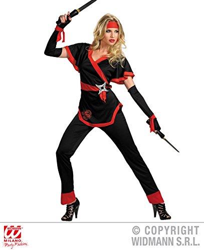 KOSTÜM - NINJA GIRL - 34/36 (S) (Ninja Girl Kostüme)