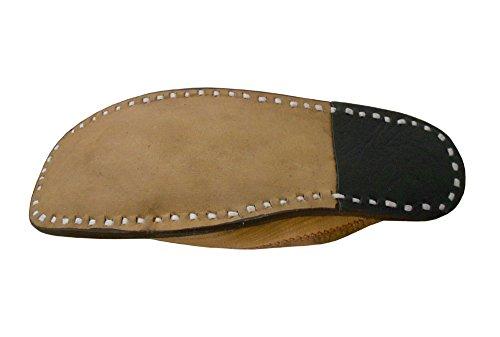Indianos Tradicionais Sapatos Camelo Etno Chinelo Couro Kalra De Homens De Criações tqwnOOCTxR