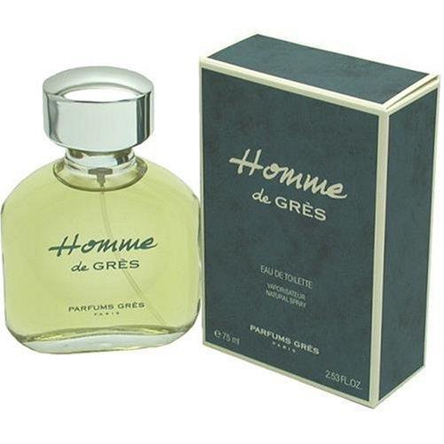 Homme De Gres POUR HOMME par Parfums Gres - 75 ml Eau de Toilette Vaporisateur