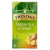 Twinings Green Tea Ginger 25 Teabags
