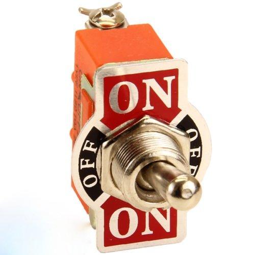 Preisvergleich Produktbild phil trade Kipp Wechsel Schalter ON-Off-ON 12 / 24 V Volt Kill Switch Auto KFZ Retro