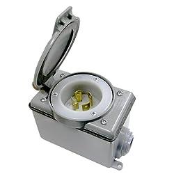 Leviton 37830-kit 30-amp Generator Power Cord Inlet Kit
