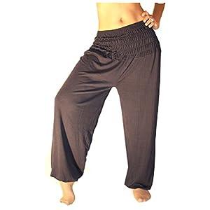 Jygles Damen Pumphose/Haremshose/Yoga Pant Stretch Pump Sport Aladin Hose