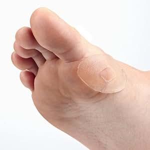 Gelex - Pansement Gel Silicone pour Pieds - Patch Autocollant - Soulage Cors Ampoule Oignon Orteil - Protection Anti-Frottements