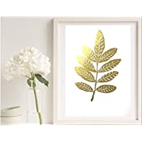 Poster Gold, Silber oder Kupfer Blatt