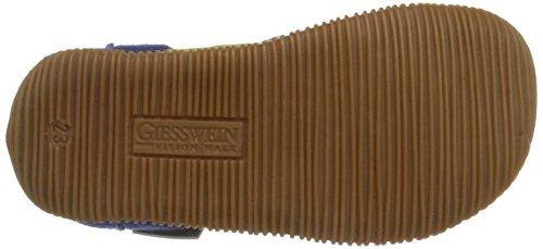 Giesswein Schwabach, Chaussons courts, non doublées garçon Bleu (527 / Jeans)