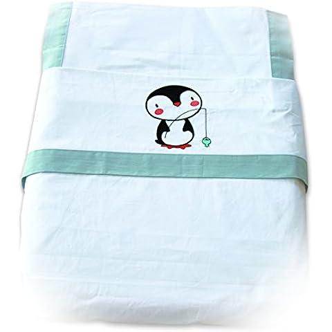 Juego de sábanas para cuna de 60 x 120cm. 100% Algodón