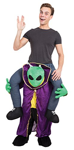Bristol Novelty AF013 Huckepack Alien Kostüm