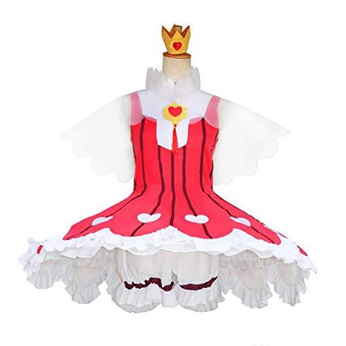 Kinomoto Sakura Cosplay Kostüm Kleid Anime Kostüm Anzug Party Kostüm Für (Kinomoto Sakura Kostüm)