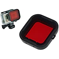 Hapurs GoPro Water Sport Floating Dive filtro rosso per GoPro