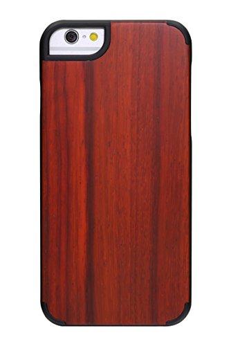 """SunSmart Housses classique en bois iPhone 6 Housse en bois naturel de protection pour iPhone 6 4.7"""" --35 33"""