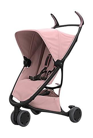 Quinny Zapp Xpress Buggy, kompakt zusammenfaltbar, leicht und komfortabel, mit Relax-Position, rosa