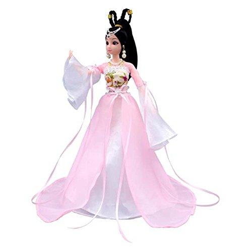 (Elegante chinesische alte Kostüm Menschen Puppen Mädchen Prinzessin / Göttin Spielzeug-P)