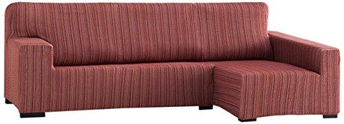 Chaise (Sofahusse elastisch Chaise Longue rechter Arm 32x42x17 cm burgunderrot)