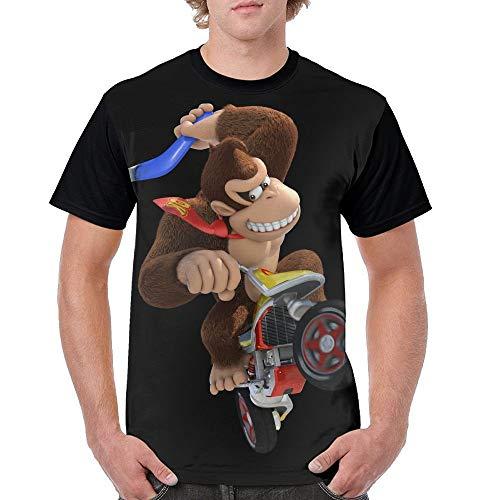 Men's Biker Kong T-shirt. S to 3XL
