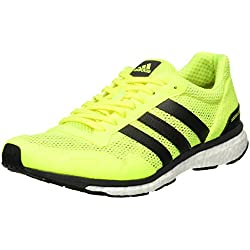 adidas Adizero Adios M, Zapatillas de Running para Hombre, Amarillo (Amasol/Neguti / Ftwbla), 40 EU