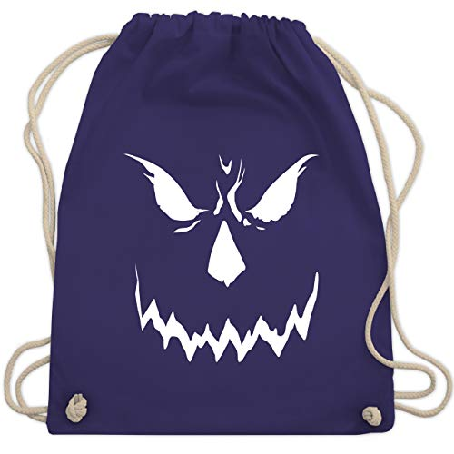 Halloween - Scary Smile Halloween Kostüm - Unisize - Lila - WM110 - Turnbeutel & Gym Bag