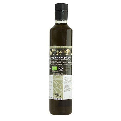 Olio Alimentare di Semi di Canapa Vergine Biologico - 500ml