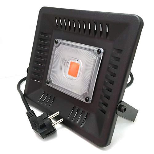 IsEasy 50W LED Pflanzenlampe, IP67 COB Vollspektrum Zimmerpflanzen Lampe, 160° Abstrahlwinkel...