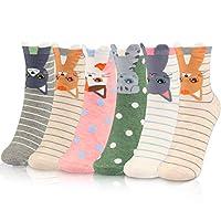 WOSTOO Women Socks Novelty Women