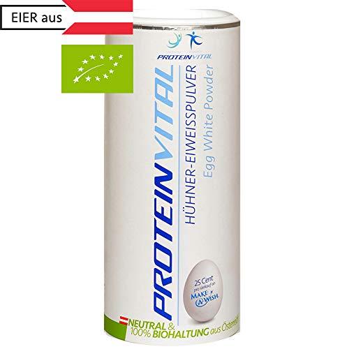 PROTEINVITAL Bio Eiklar-Ei-Protein-Pulver | Regional Österreichische Qualität | 500g