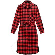 5548699c0e8a Camicia Vestiti Elegante Moda Donna Vestito Invernali Autunno Unico Tasche  Anteriori Single Breasted Manica Lunga Tuta
