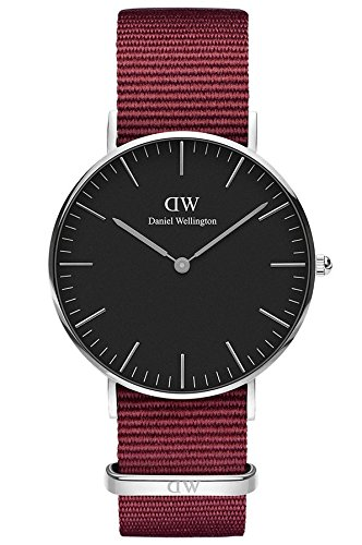 Daniel Wellington Unisex Adult Analogue Quartz Watch with Nylon Strap DW00100274