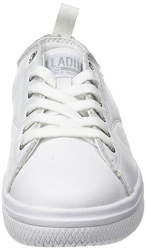 Palladium Crushion L Lt U, Sneaker Unisex-Adulto Bianco (White/white)