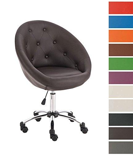 Clp london sedia da ufficio design rivestimento di for Sedia design amazon