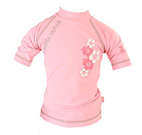 PIWAPEE - Tee-shirt anti-uv la petite vahinee rose 6-12mois