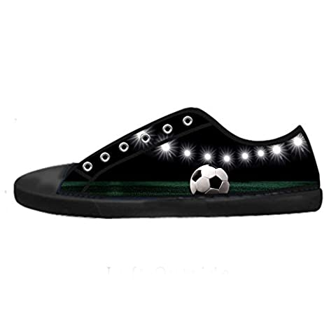 Custom Football sports Men's Canvas shoes Schuhe Lace-up High-top Sneakers Segeltuchschuhe Leinwand-Schuh-Turnschuhe