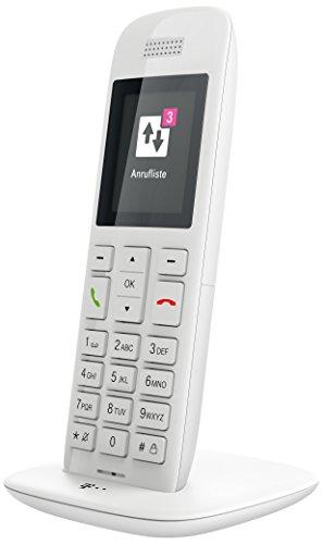 Telekom Speedphone 11 weiß mit DECT Basis und Anrufbeantworter – wahlweise nutzbar am IP Anschluss oder am analogen a/b Port