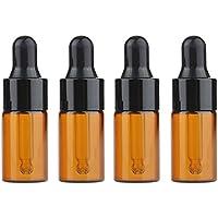 Furnido 15Stück Mini-Flakon in Bernsteinfarben, nachfüllbare Flasche, leerer Behälter mit Pipette für Kosmetika... preisvergleich bei billige-tabletten.eu