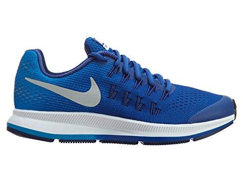 Nike Zoom Pegasus 33 (Gs), Scarpe da Corsa Bambino CHLK BLUE/MTLLC SLVR-OBSDN-WHT
