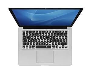 """KB Covers QWERTY ISO Housse pour Clavier MacBook Air 13""""/Pro Noir"""