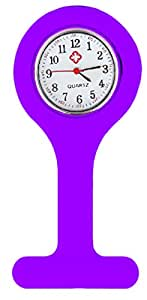 VALUEMED PURPLE SILICONE GEL Nures Fob Watch (Washable, Infection Free)