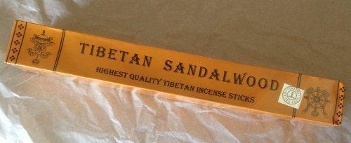 Commercio equo e solidale genuini bastoncini di incenso tibetano Sandalo ( Piramidine ) - Contiene 27 bastoni , ogni bastone è di circa lungo 21 cm