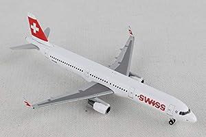 Herpa 529471 Swiss International Airlines Airbus A321 - Kit de Modelos de avión
