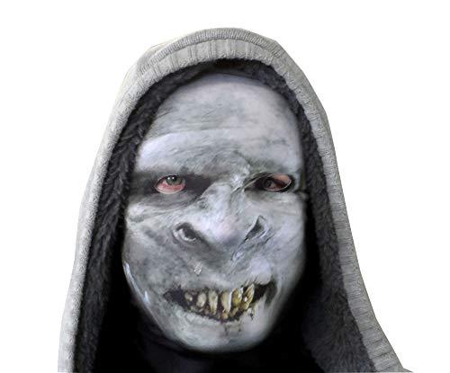 L&S PRINTS FOAM DESIGNS Halloween Scary Horror Novelty Fun Stoff Face Maske atmungsaktiv Fancy Kleid hergestellt in Yorkshire