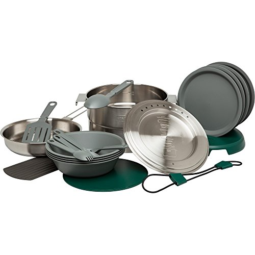 Stanley Adventure Basis 4x Camp Cook-Set, Edelstahl, 3,5l -