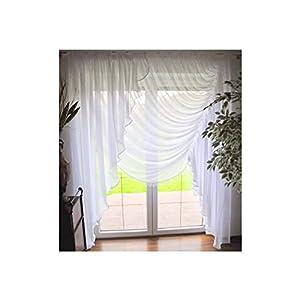 Wohnzimmer Gardinen mit Balkontür günstig online kaufen | Dein Möbelhaus