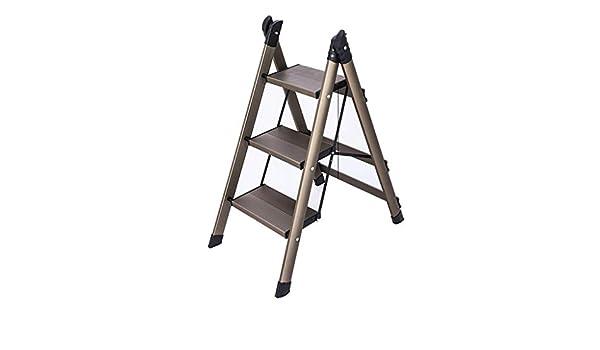 MY1MEY Hauptfaltleiter-Schemel Aluminiumlegierung Leiter-Stuhl Doppelt-verwenden Sie im Freien skizzierende Fischen-Schemel Pony-Schemel einzelner Schritt-Schemel