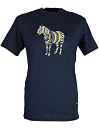 Paul Smith Men`s Zebra T-Shirt - Navy