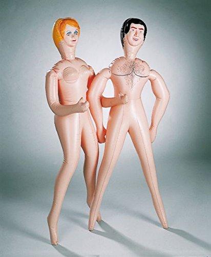 Aufblasbarer Mann Puppe (Deko-Puppe aufblasbar, Mann)