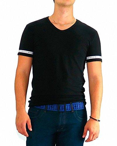 bikkembergs-tshirt-bikkembergs-noir-one-s-xl-noir