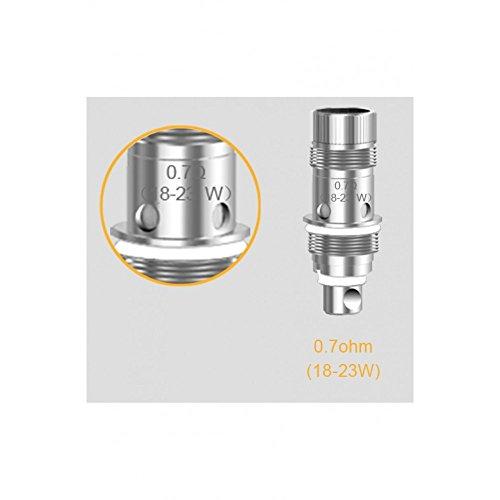 Genuine Aspire Nautilus BVC Coils – 0.7 ohm – 5 pack (For Nautilus, Nautilus Mini, Triton Mini & Nautilus 2)