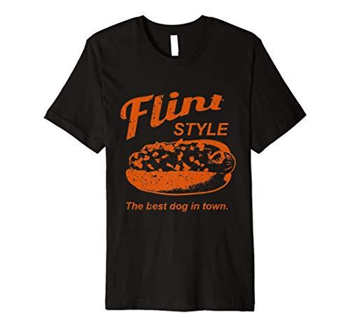 Flint Style Coney Hot Dog T-Shirt