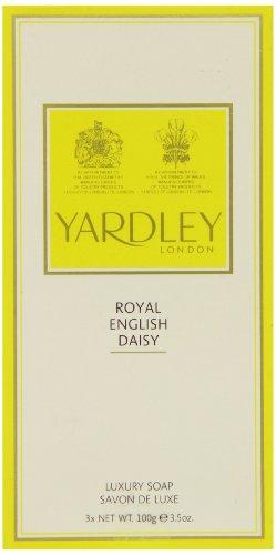 Royal English Daisy de Yardley Savon de Luxe 3 x 100g